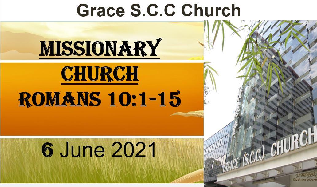 6 June 2021 EC Sermon
